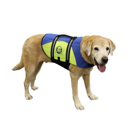 Paws Aboard BLUE/YELLOW Neoprene Pet Life Vest