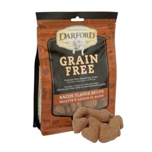 Bacon Grain Free Baked Dog Treats by Darford