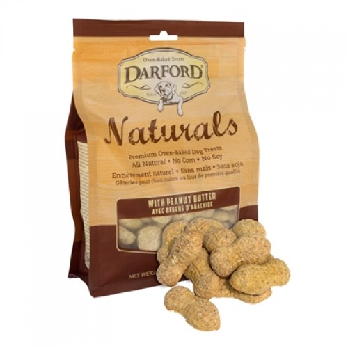 Peanut Butter Naturals Baked Dog Treats by Darford