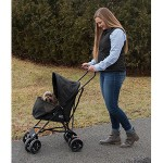Travel Lite Pet Stroller - Black