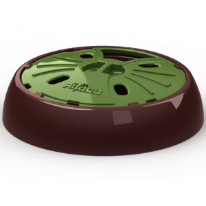 AiKiou Junior Slow Down Bowl for Dogs - Green